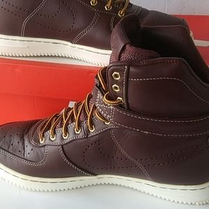 Nike Air..Leather..Brown Shoes